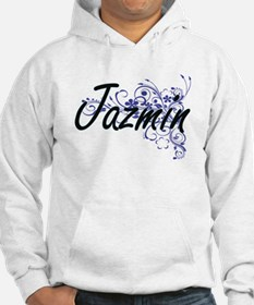 Jazmin Artistic Name Design with Hoodie