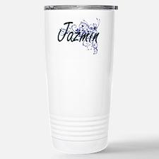 Jazmin Artistic Name De Travel Mug