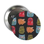 "Retro Abstract Art 2.25"" Button (100 pack)"