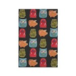 Retro Vintage Toys Rectangle Magnet (100 pack)