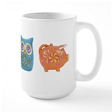 Retro Abstract Art Mug(15 oz)