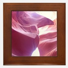 Unique Antelope canyon Framed Tile