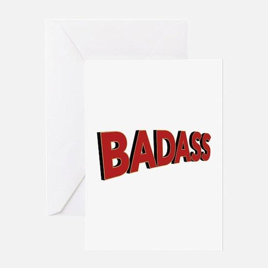 Badass Greeting Cards