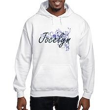 Jocelyn Artistic Name Design wit Hoodie Sweatshirt