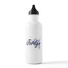 Jordyn Artistic Name D Water Bottle