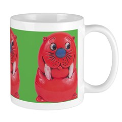 Vintage Toy Walrus Ceramic Coffee Mug