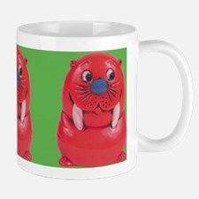 Vintage Toy Walrus Ceramic Coffee Mug