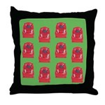 Vintage Toy Walrus Throw Pillow