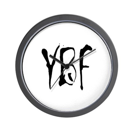 YBF Wall Clock