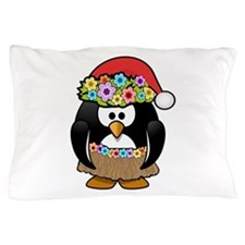 Christmas In Summer Penguin Pillow Case