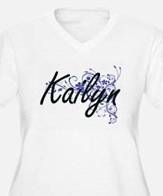 Kailyn Artistic Name Design with Plus Size T-Shirt