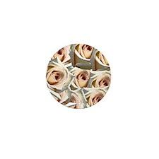 Wedding Bouquet Mini Button