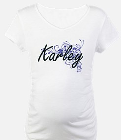 Karley Artistic Name Design with Shirt