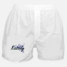 Kassidy Artistic Name Design with Flo Boxer Shorts
