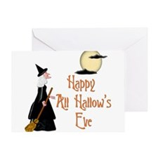 Happy All Hallow's Eve Greeting Card