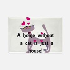 A home without a cat... Magnets