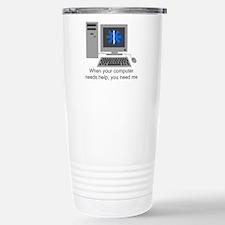 Computer Repair Stainless Steel Travel Mug