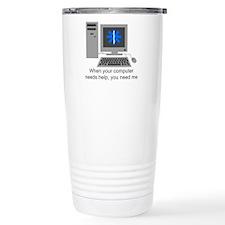 Computer Repair Thermos Mug