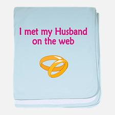Met my Husband baby blanket