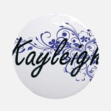 Kayleigh Artistic Name Design with Round Ornament