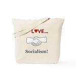 I Love Socialism Tote Bag