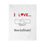 I Love Socialism Twin Duvet