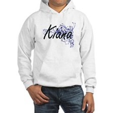 Kiana Artistic Name Design with Hoodie Sweatshirt