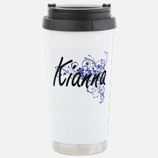 Kianna Artistic Name De Travel Mug