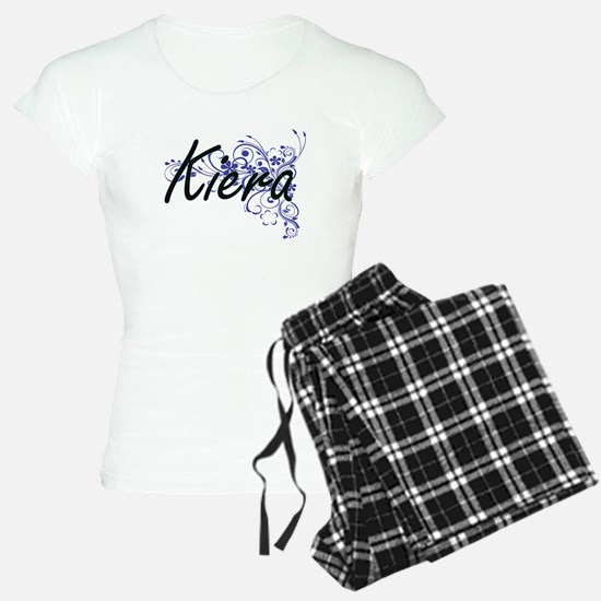 Kiera Artistic Name Design Pajamas