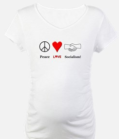 Peace Love Socialism Shirt