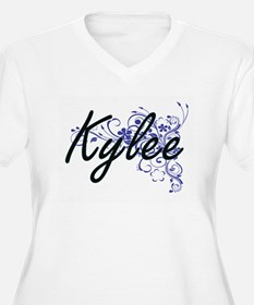 Kylee Artistic Name Design with Plus Size T-Shirt