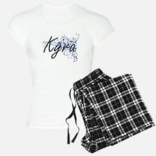 Kyra Artistic Name Design w Pajamas