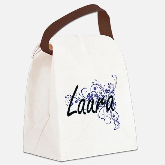 Unique Laura Canvas Lunch Bag