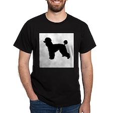 Cool Poodle dog christmas T-Shirt