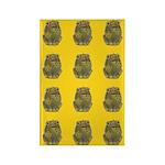 Vintage Toy Frog Art Rectangle Magnet