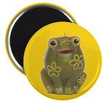 """Vintage Toy Frog Art 2.25"""" Magnet (10 pack)"""