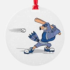 blue jay baseball Ornament