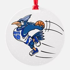 B is for blue jay Ornament