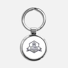 Unique Alumni Round Keychain