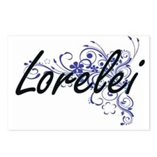 Lorelei Artistic Name Des Postcards (Package of 8)