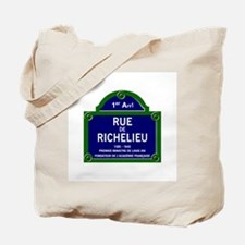 Rue de Richelieu, Paris - France Tote Bag