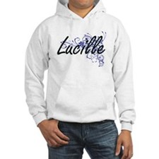 Lucille Artistic Name Design wit Hoodie