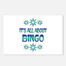 All About Bingo Postcards (Package of 8)