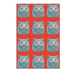 Toy Modern Owl Art Postcards (Package of 8)