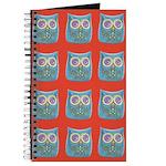 Toy Modern Owl Art Journal
