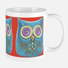 Toy Modern Owl Art Ceramic Coffee Mug