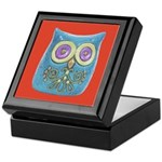 Toy Modern Owl Art Keepsake Box