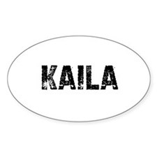 Kaila Oval Decal