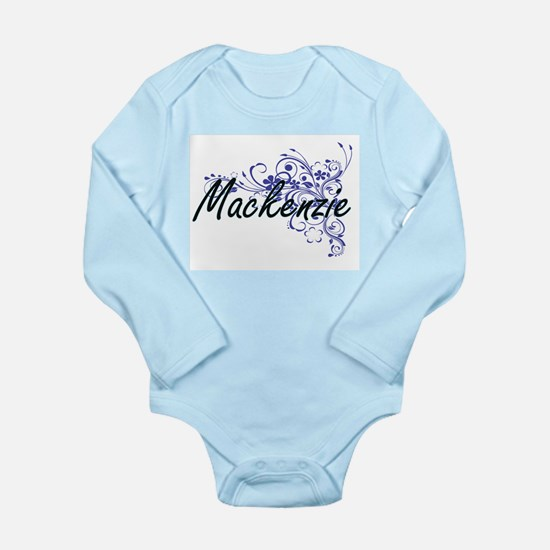 Mackenzie Artistic Name Design with Flow Body Suit