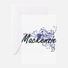 Mackenzie Artistic Name Design with Greeting Cards